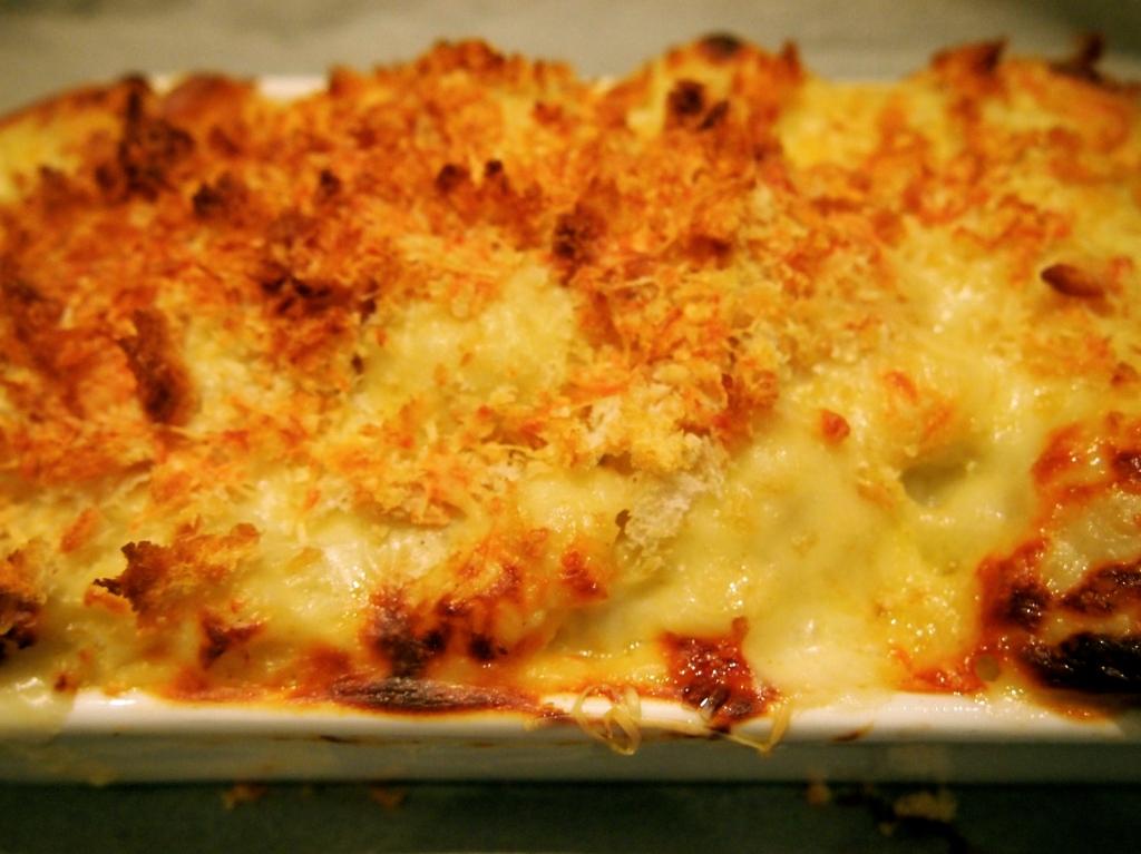 Cauliflower Gratin Recipe — Dishmaps