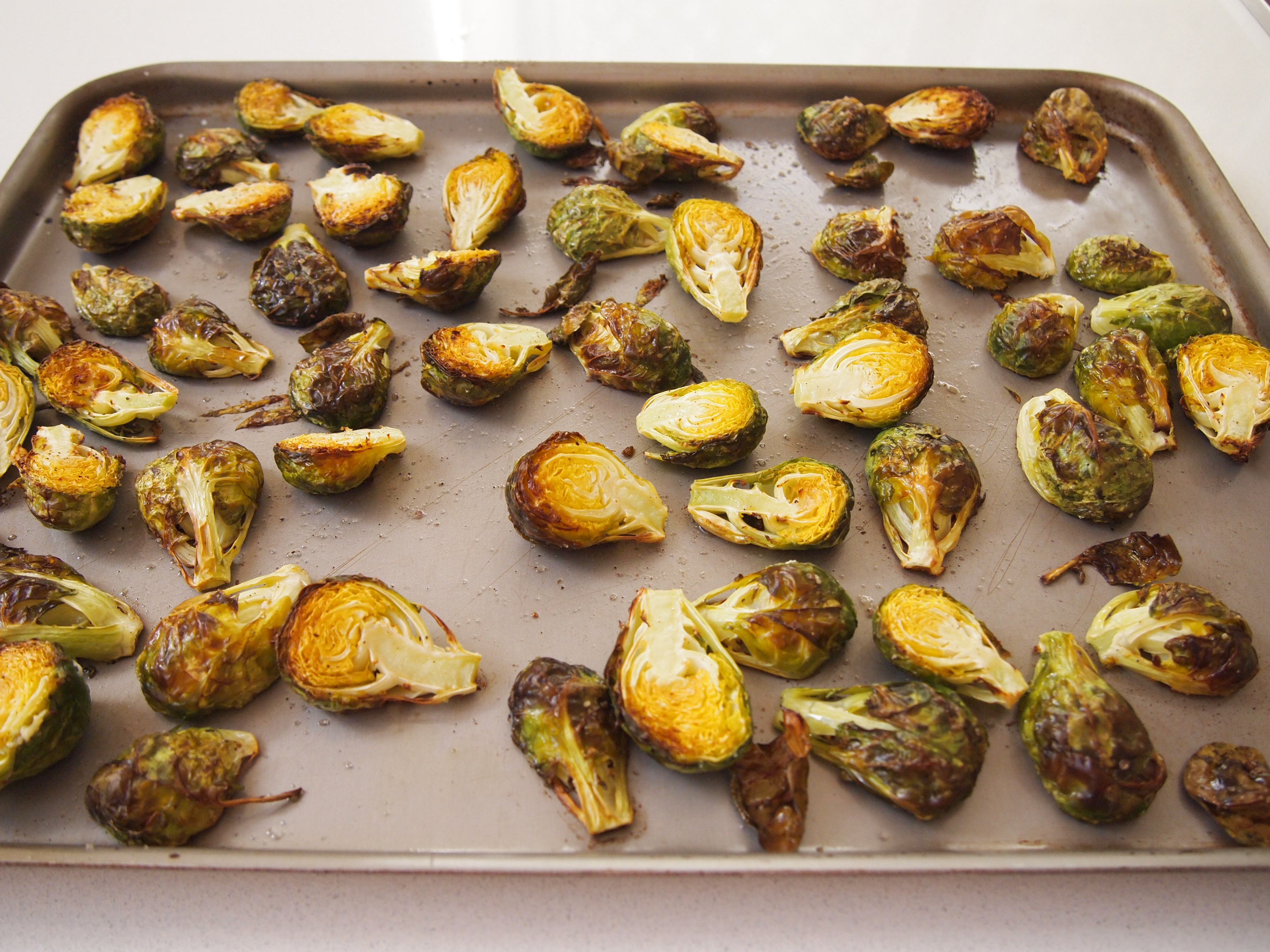 Crispy Mustard Brussels Sprouts Recipes — Dishmaps