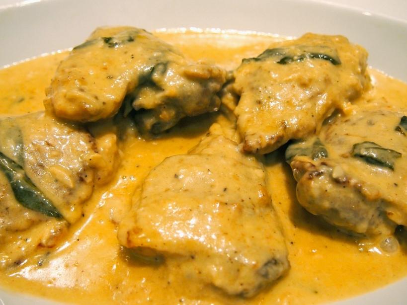 Braised Chicken with Sage & Creamy Dijon Sauce | Mustard With Mutton