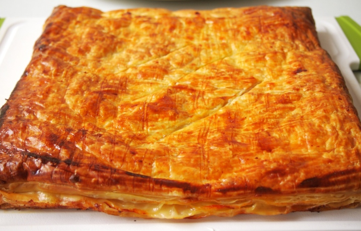 Salami & Cheese in Puff Pastry