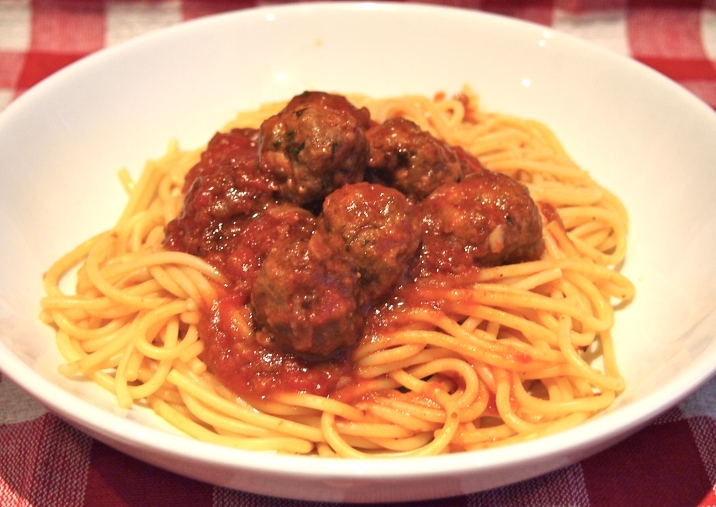 My Favourite Spaghetti & Meatballs