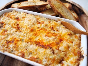Perfect Super Bowl Snack - Hot Crab Dip