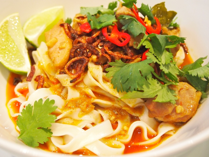 Khao Soi - Noodles with Rich Chicken Curry Sauce