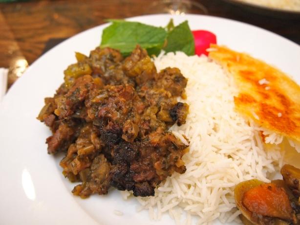 Persian Celery & Lamb Stew - Khoresht Karafs