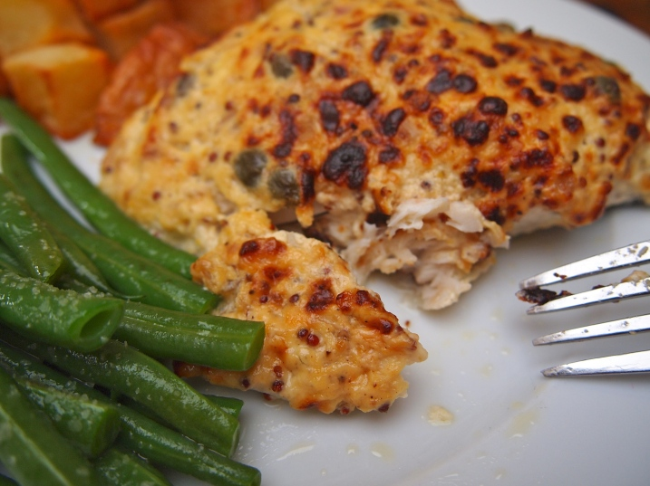 Ina Garten's Mustard Roasted Fish