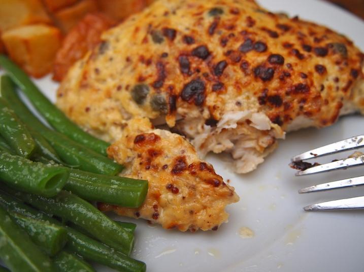 Ina Garten's Mustard Roasted Fish