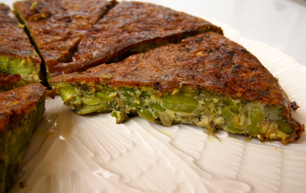 "Kookoo Baghali – Persian Broad Bean and Dill ""Frittata ..."
