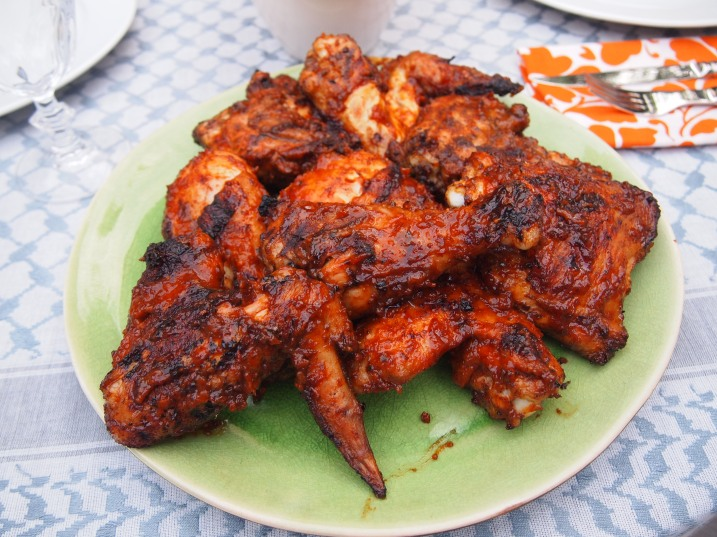 The Best Grilled Chicken with Barbecue Sauce