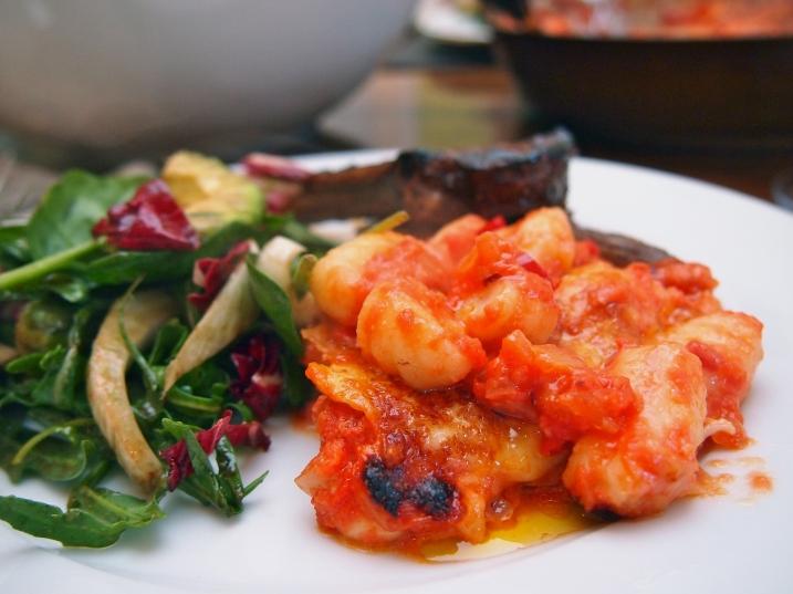 Gnocchi Alla Sorrentina - Baked Gnocchi with Tomato, Mozzarella & Fontina