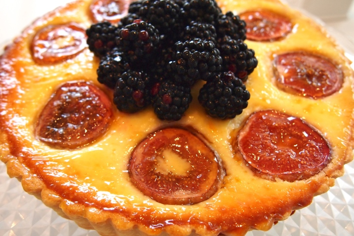 Baked Mascarpone & Fig Tart