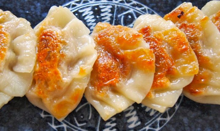Gyoza - Japanese Meat Filled Dumplings