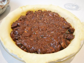 Beef & Red Wine Pie Filling
