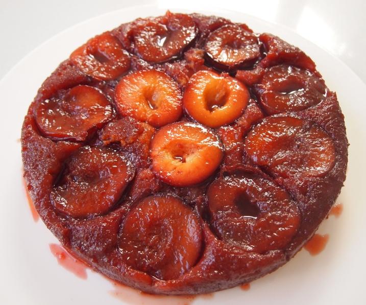 Plum Cake Tatin - Ina Garten