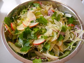 Apple & Fennel Coleslaw