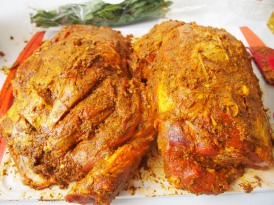 Lamb with Tikka Paste