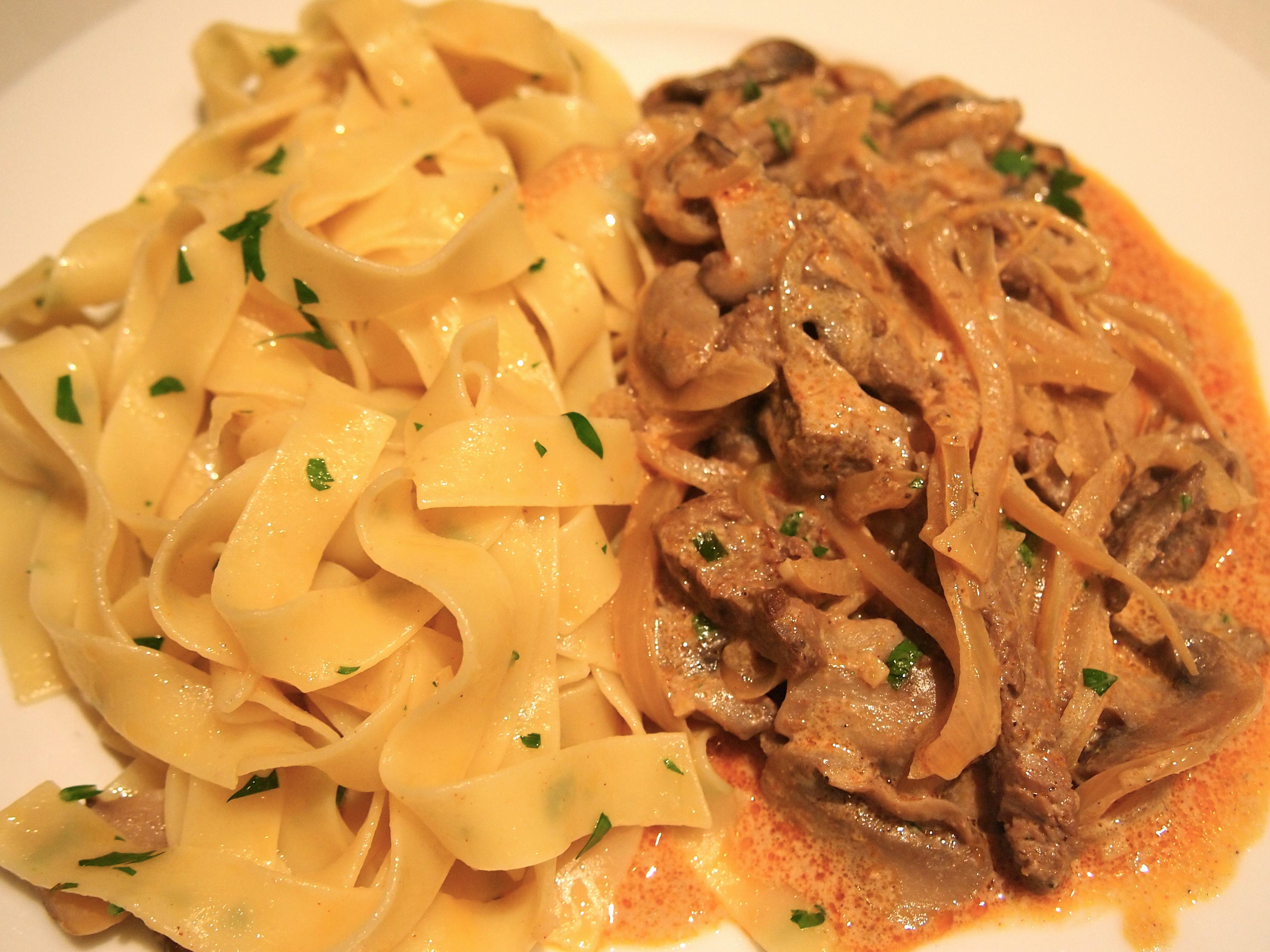 Classic Beef Stroganoff Recipe — Dishmaps