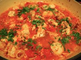 Seafood Sauce for Pasta- Ragu di Pesce