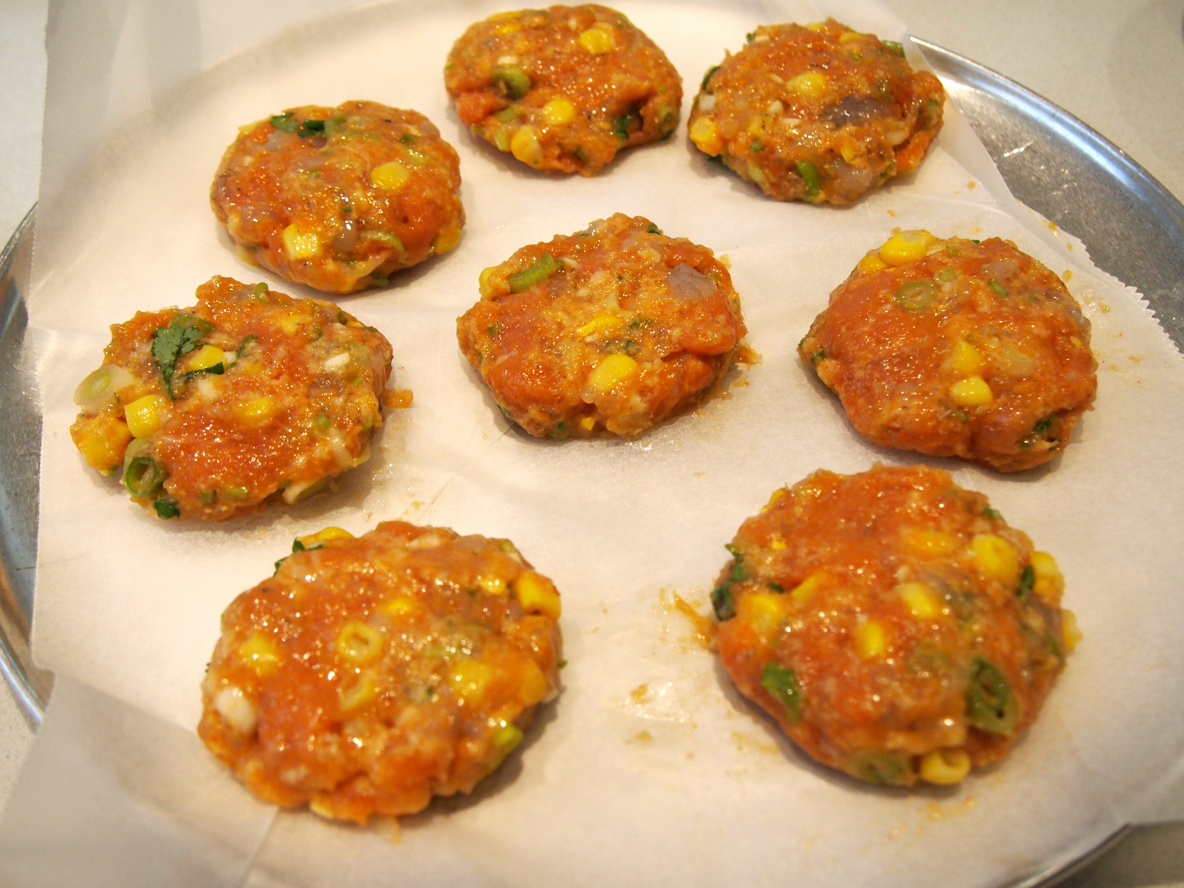 Thai Style Corn Fritters With Sweet Chilli Sauce Recipes — Dishmaps