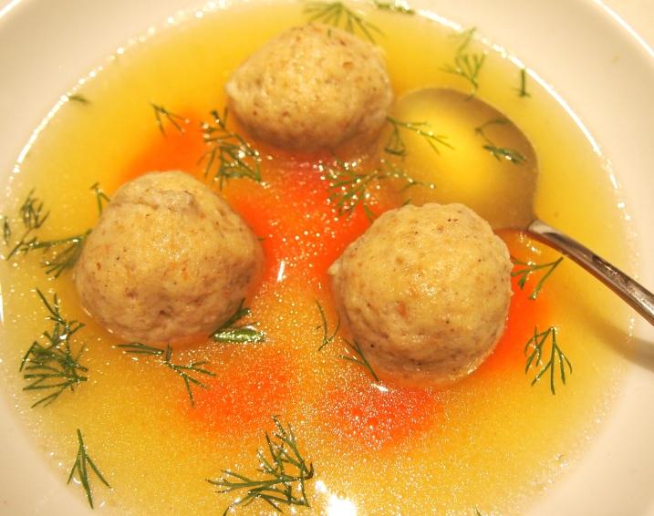 Best Ever Chicken Matzo Ball Soup