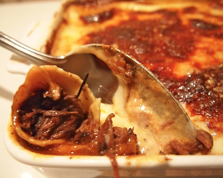 Beef Cheek & Taleggio Cannelloni