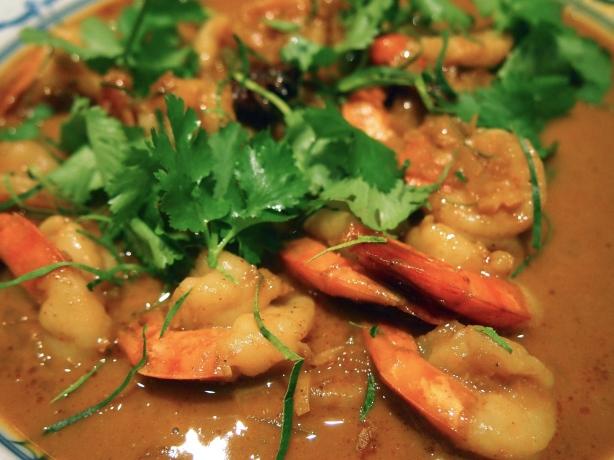 Thai Yellow Prawn Curry