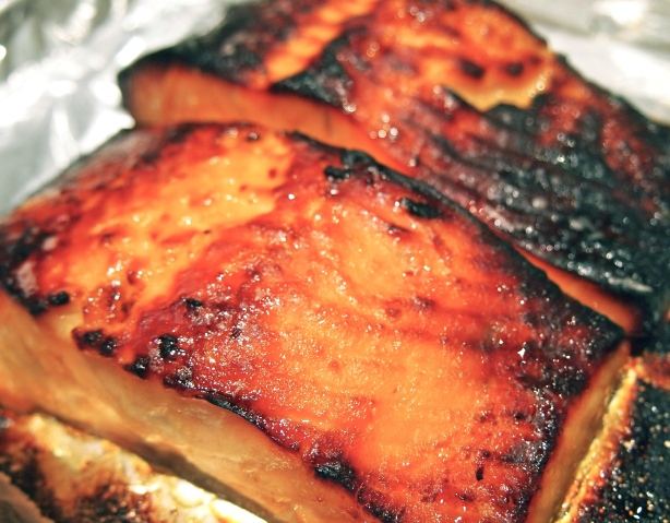 Grilled Miso Marinated Salmon - Saikyo Yaki