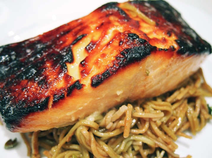 Miso Marinated Grilled Salmon - Saikyo Yaki