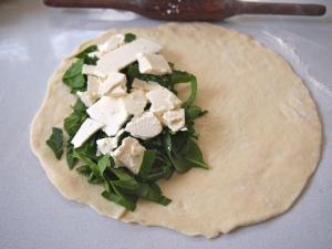 Spinach & Feta Gozleme Filling