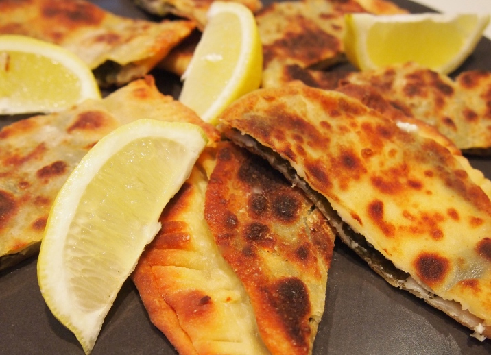 Spinach & Feta Gozleme - Savoury Turkish Pastries