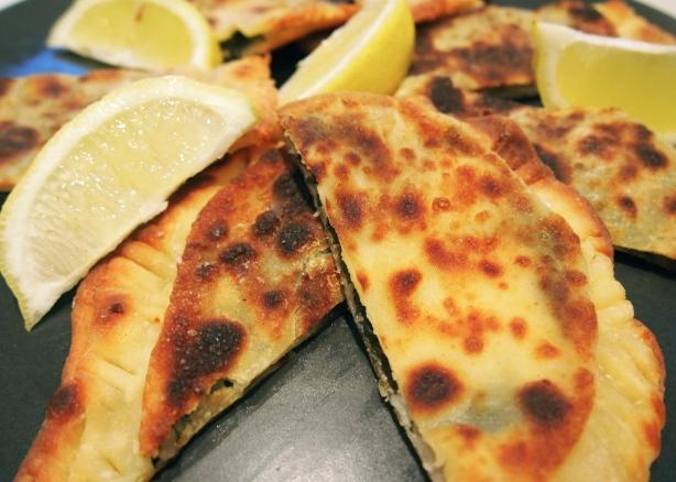 Spinach & Feta Gozleme - Savoury Turkish Pastries