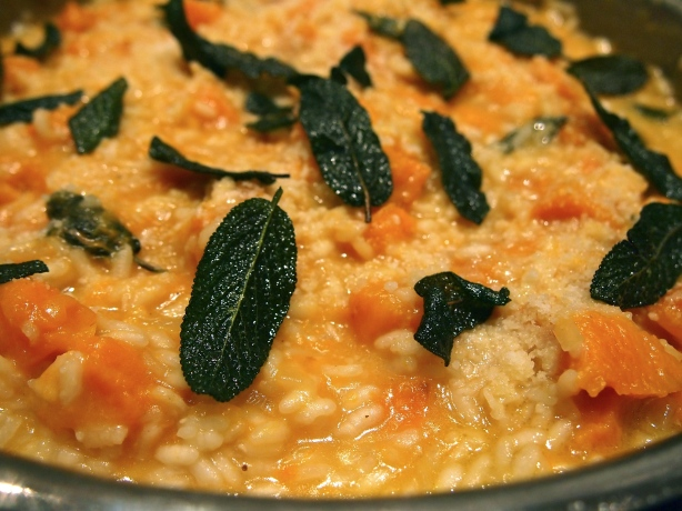 Donna Hay's Baked Pumpkin & Sage Risotto