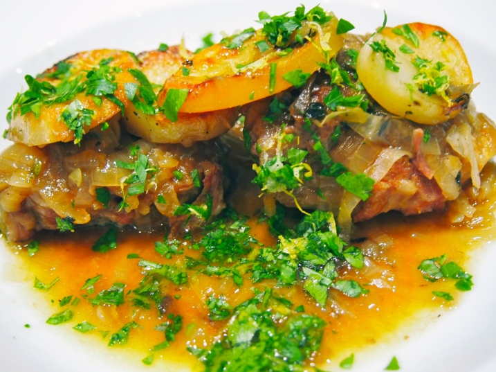 Lamb Hot & Potato Hot Pot with Gremolata