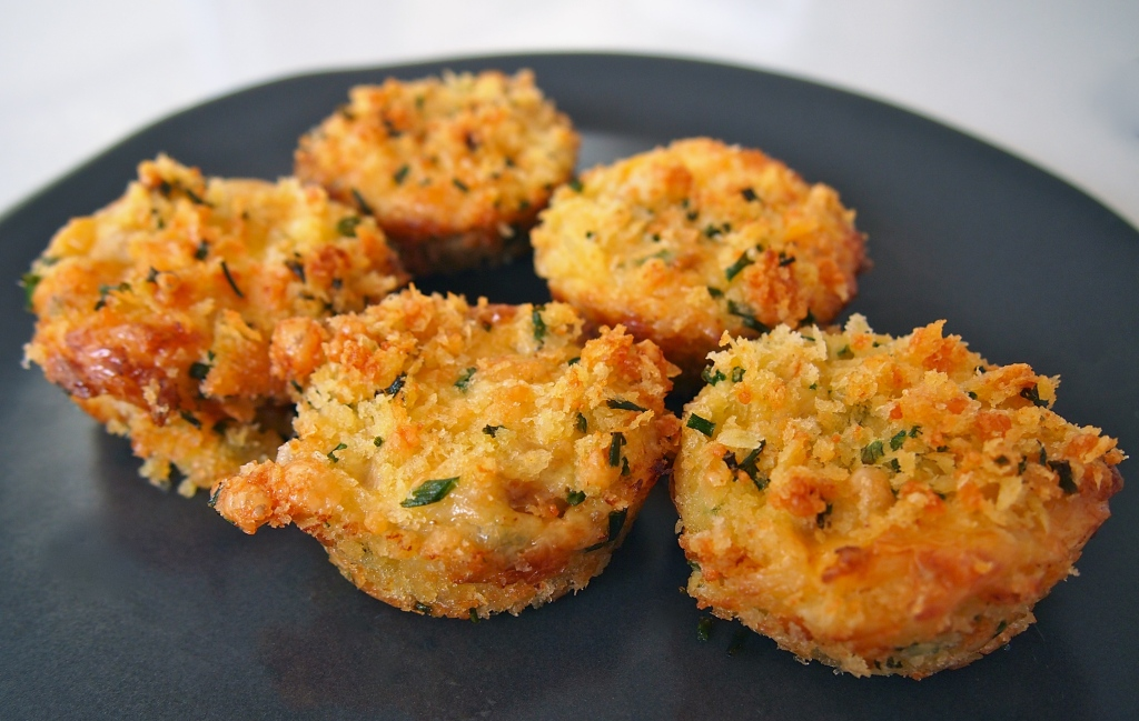 Baking Mini Crab Cakes