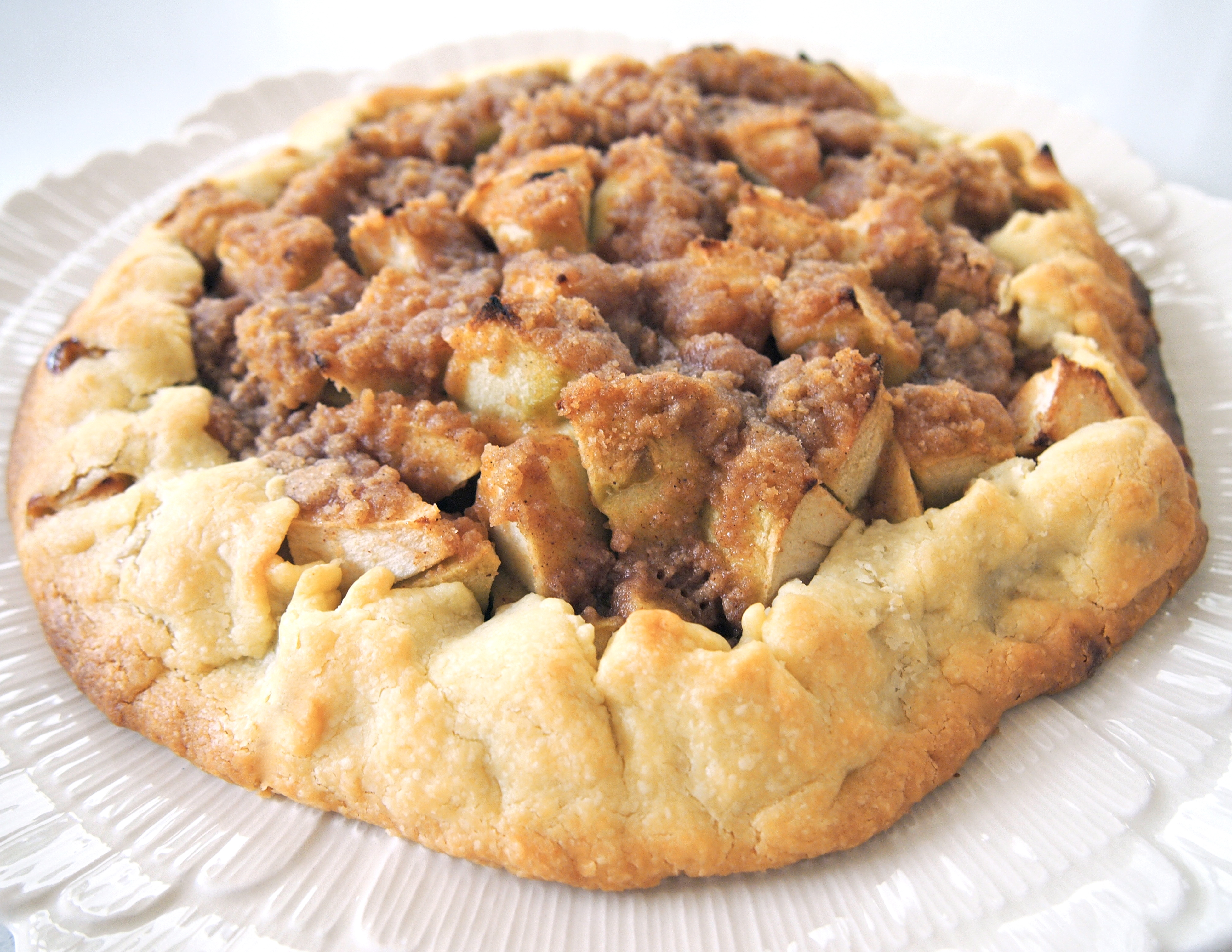 Apple Crostata – The Simplest Apple Pie Ever   Mustard With Mutton