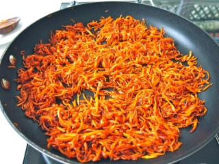 Shirin Polow - Caramelised Carrots
