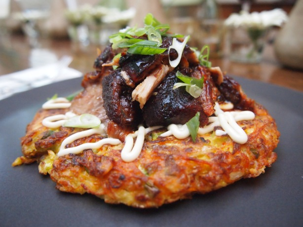 Ultimate Okonomiyaki with Sticky Soy Pork Belly