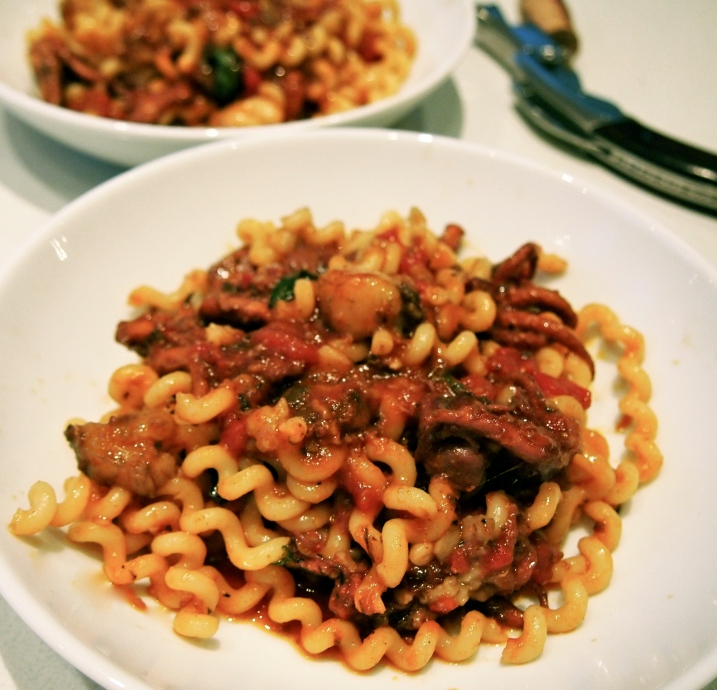 The Most interesting Pasta Dish Ever - Marea's Fusilli with Octopus & Bone Marrow