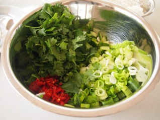 Herbs for Larb Salad