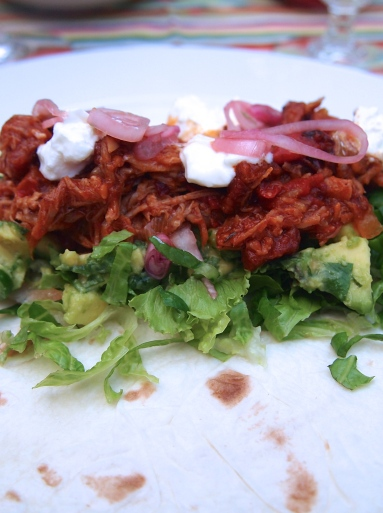 Pork Tinga Taco's -  The Tastiest Taco Filling Ever