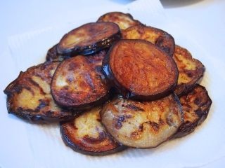 Fried Eggplant for Parmigiana