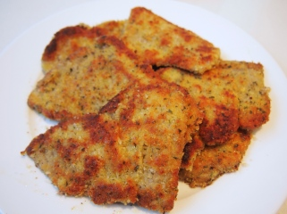 Crumbed Veal for Parmigiana