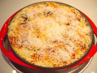 Veal & Eggplant Parmigiana