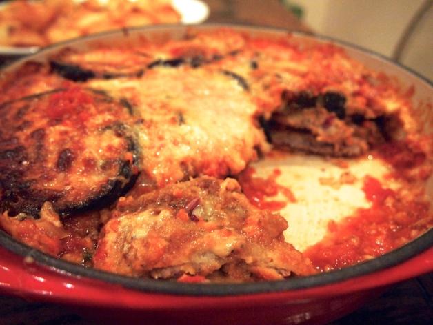 Ultimate Parmigiana - Veal & Eggplant