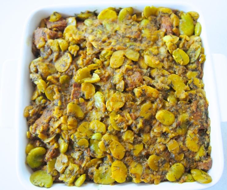 Khoresht Bogoli - Persian Braised Lamb and Fava Bean Stew
