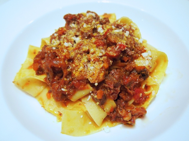 Osso Buco Ragu with Pappardelle