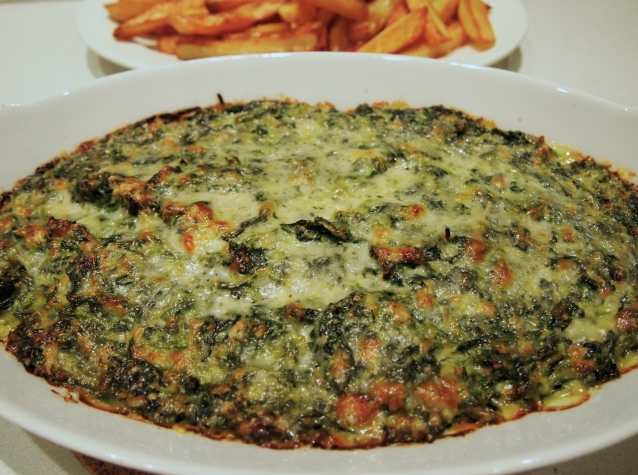 Ultimate Spinach Gratin