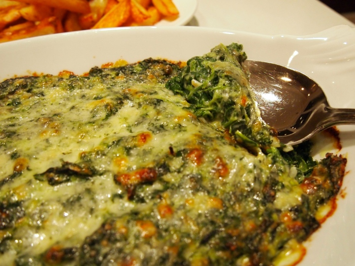 Best Ever Spinach Gratin