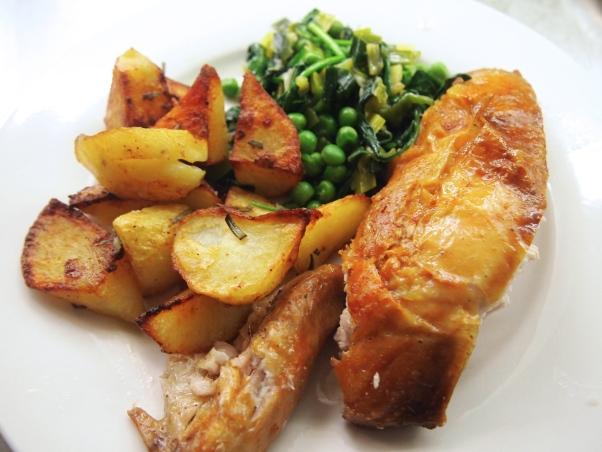 Italian Style Roast Chicken & Potatoes