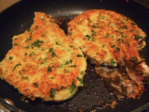Veal Cutlet for Parmigiana