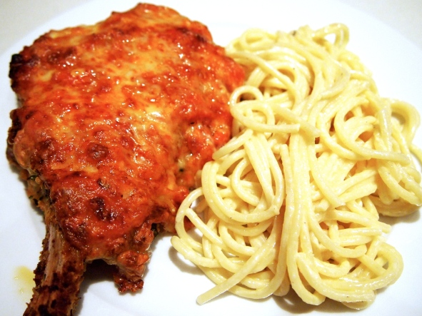 Veal Cutlet Parmigiana